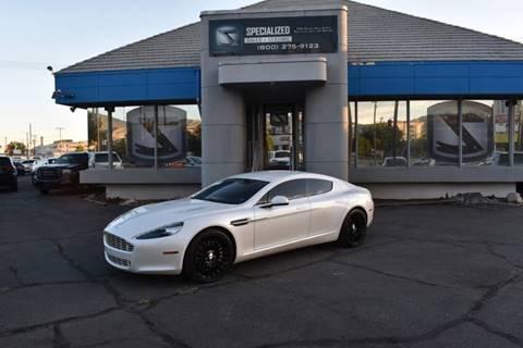 2012 Aston Martin Rapide for sale in Salt Lake City, UT