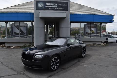 2014 Rolls-Royce Wraith for sale in Salt Lake City, UT