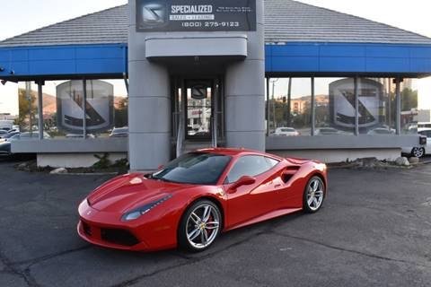 2018 Ferrari 488 GTB for sale in Salt Lake City, UT