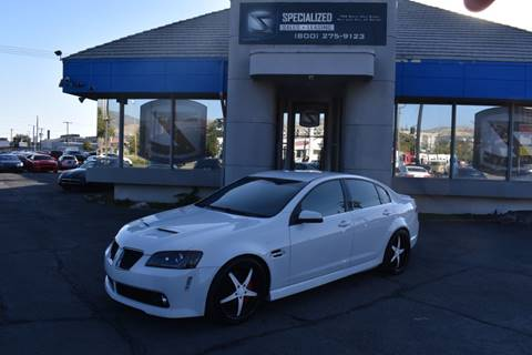 2008 Pontiac G8 for sale in Salt Lake City, UT