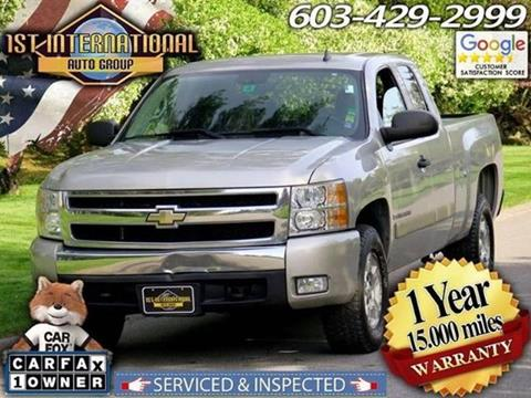2007 Chevrolet Silverado 1500 for sale in Merrimack, NH