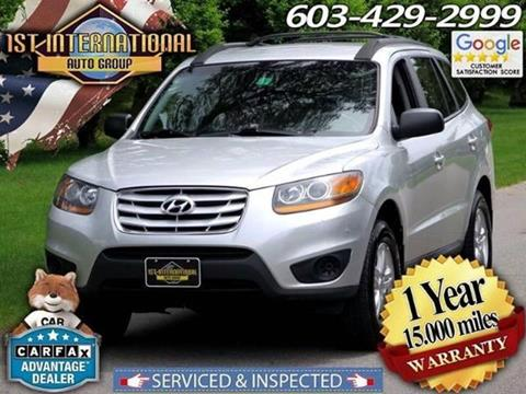 2011 Hyundai Santa Fe for sale in Merrimack, NH