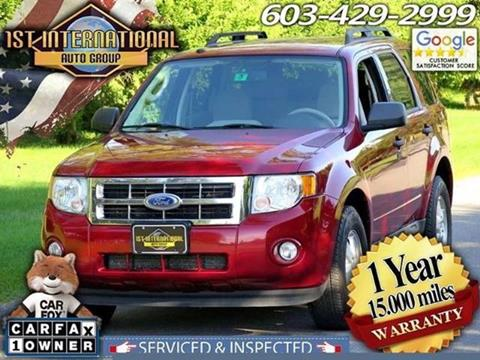 2011 Ford Escape for sale in Merrimack, NH
