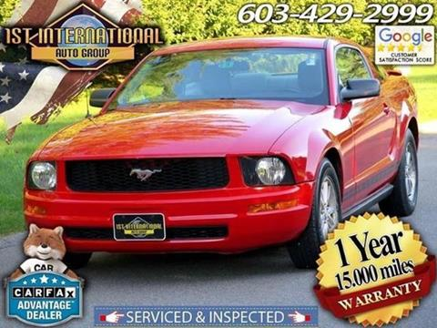 2007 Ford Mustang for sale in Merrimack, NH