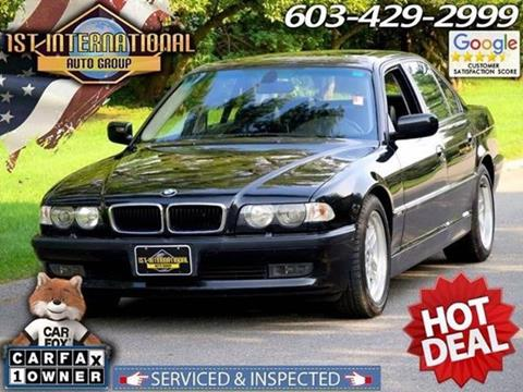 2001 BMW 7 Series for sale in Merrimack, NH
