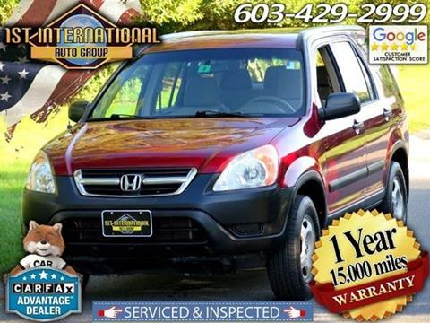 2004 Honda CR-V for sale in Merrimack, NH