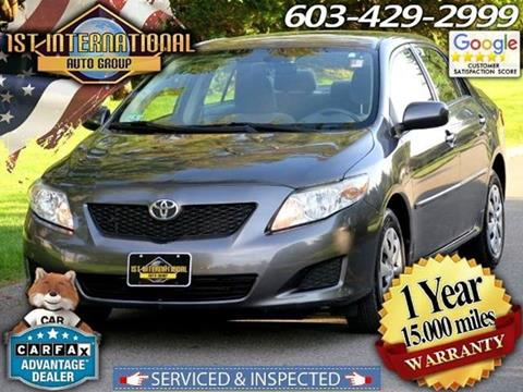 2009 Toyota Corolla for sale in Merrimack, NH