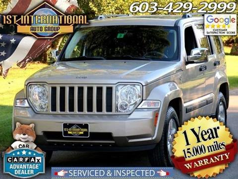 2011 Jeep Liberty for sale in Merrimack, NH
