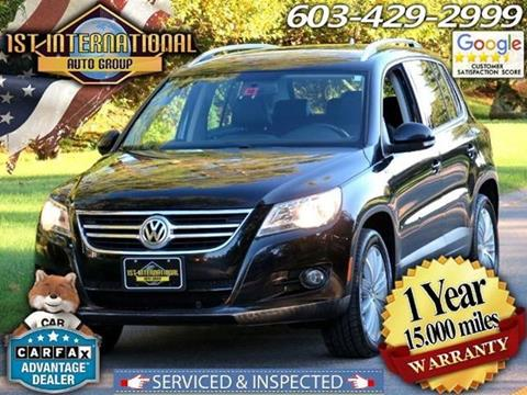 2010 Volkswagen Tiguan for sale in Merrimack, NH