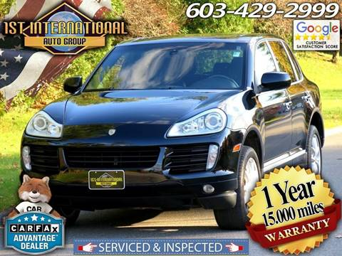 2008 Porsche Cayenne for sale in Merrimack, NH