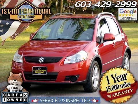 2009 Suzuki SX4 Crossover for sale in Merrimack, NH