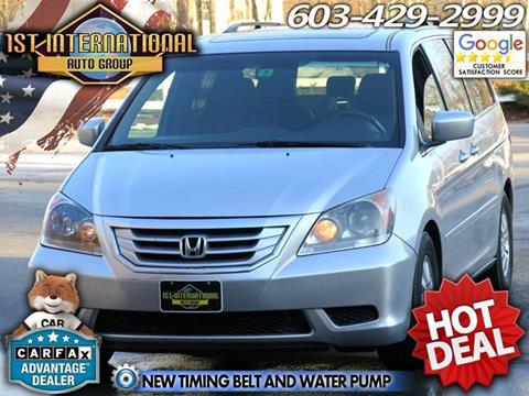 2010 Honda Odyssey for sale in Merrimack, NH