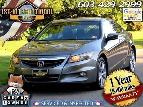 2011 Honda Accord for sale in Merrimack, NH