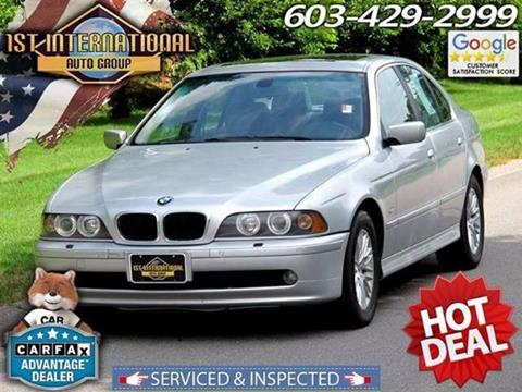 2001 BMW 5 Series for sale in Merrimack, NH