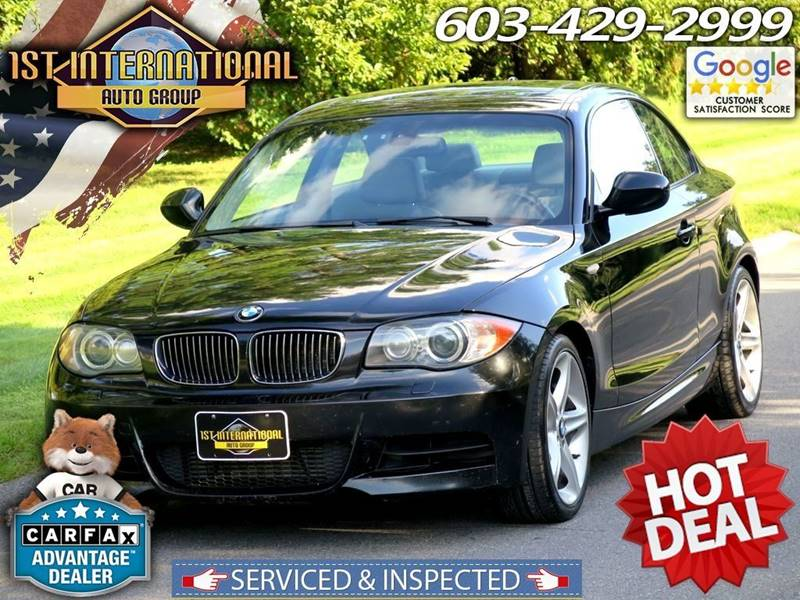 2010 Bmw 1 Series 135i Coupe M-Sport In Merrimack NH - 1st ...