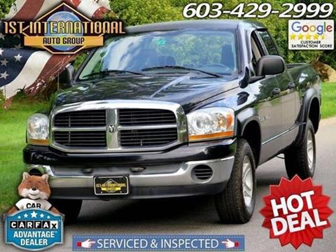 2006 Dodge Ram Pickup 1500 for sale in Merrimack, NH
