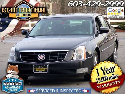 2011 Cadillac DTS for sale in Merrimack, NH