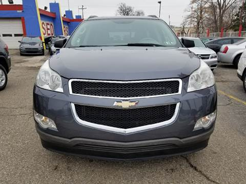 used 2011 chevrolet traverse for sale in michigan. Black Bedroom Furniture Sets. Home Design Ideas