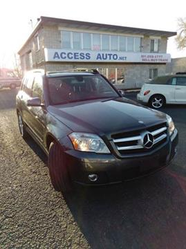 2012 Mercedes-Benz GLK for sale at Access Auto in Salt Lake City UT