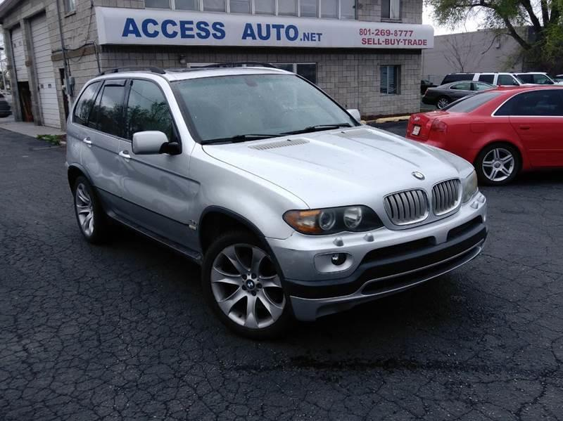 2004 Bmw X5 AWD 4.8is 4dr SUV In Murray UT - Access Auto