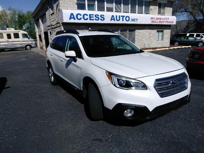 2015 Subaru Outback for sale at Access Auto in Salt Lake City UT