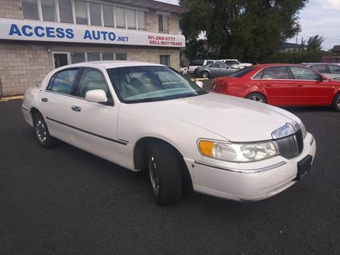 1998 Lincoln Town Car for sale at Access Auto in Salt Lake City UT