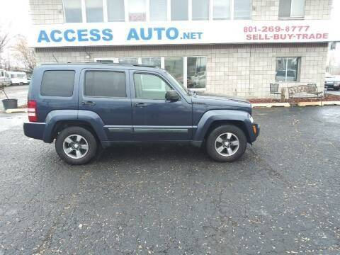 2008 Jeep Liberty for sale at Access Auto in Salt Lake City UT