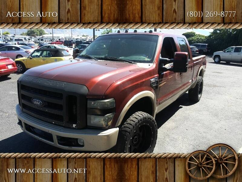 2008 Ford F-250 Super Duty for sale at Access Auto in Salt Lake City UT