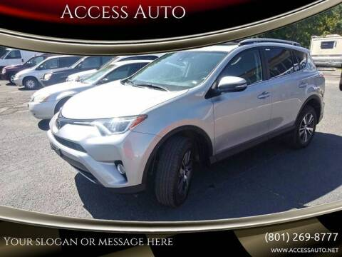 2018 Toyota RAV4 for sale at Access Auto in Salt Lake City UT