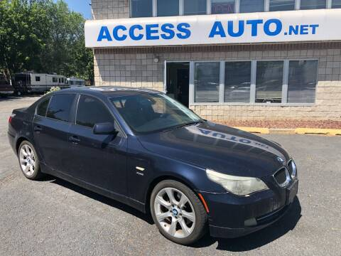 2009 BMW 5 Series for sale at Access Auto in Salt Lake City UT