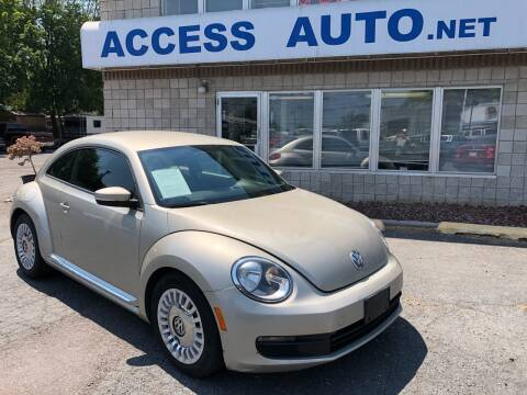2015 Volkswagen Beetle for sale at Access Auto in Salt Lake City UT