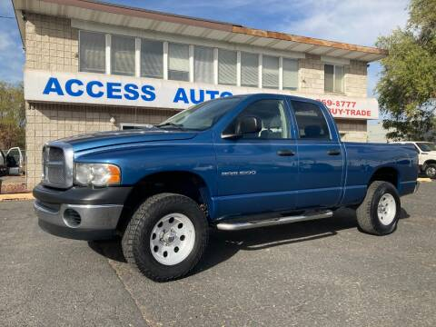 2005 Dodge Ram Pickup 1500 for sale at Access Auto in Salt Lake City UT
