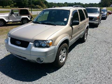 2007 Ford Escape Hybrid for sale in Marshville, NC