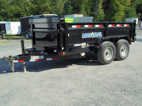 2018 Load Trail DT 6X10 Dump Trailer 9990 GVWR for sale in Holley, NY