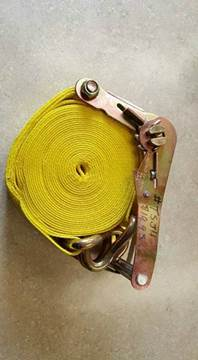 """2016 Brophy 2"""" x 27' tie down strap w/J-ho for sale in Holley, NY"""