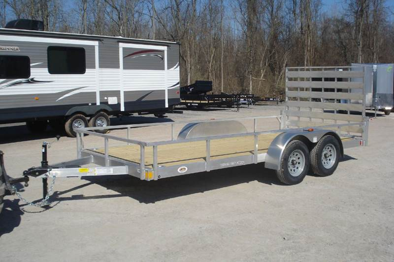 Smart 2019 Rance Aluminum 6.5X16 Landscape Trailer In Holley NY - JPR WH09
