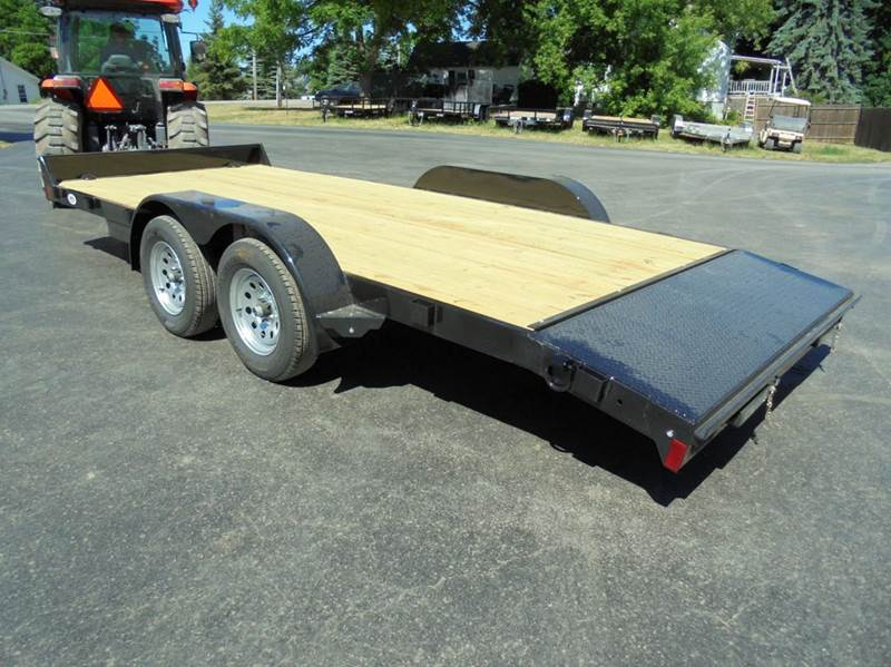 2018 Rice Trailers 18 Open Car Hauler 7k Wood Deck In Holley Ny