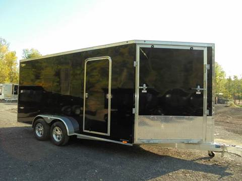 2017 Lightning Aluminum 7x21 Ft V-Nose Snow Trailer-X-