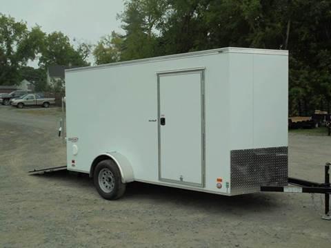 2017 Bravo 6x12  V-Nose Cargo Trailer
