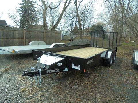 2017 Rice Trailers 18 Ft Utility Trailer, 7K