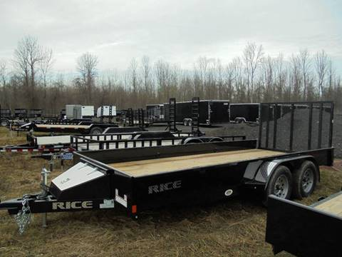 2017 Rice Trailers 16 Ft Utility Trailer, 7K