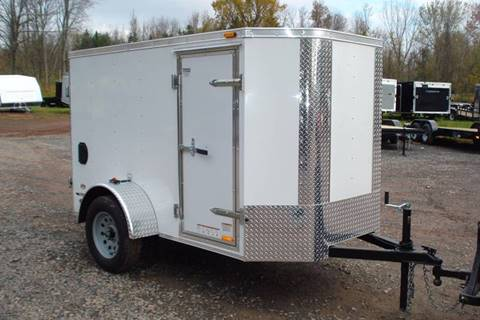 2018 Continental Cargo 5x8 V-Nose Cargo Trailer for sale in Holley, NY