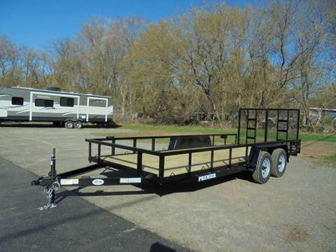 2017 Premier 16 Foot Landscape Trailer