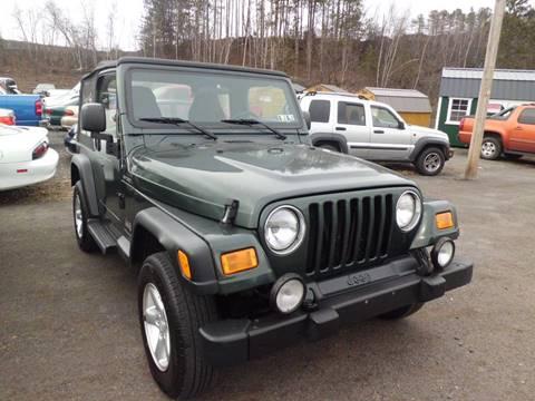 2004 jeep wrangler for sale in pennsylvania. Black Bedroom Furniture Sets. Home Design Ideas