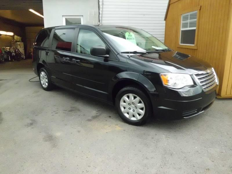 chrysler town and country 2008 recalls