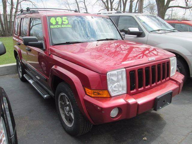 2006 Jeep Commander 4dr SUV 4WD - Warren MI