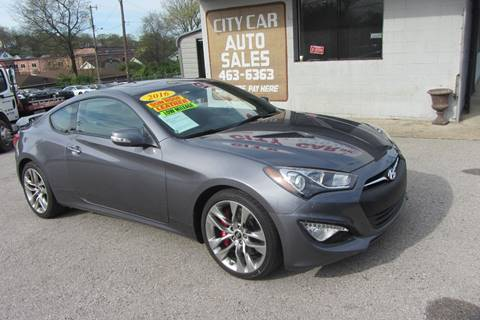2016 Hyundai Genesis Coupe >> Hyundai Genesis Coupe For Sale In Nashville Tn Carsforsale Com