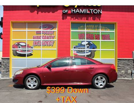 2010 Pontiac G6 for sale in Hamilton, OH