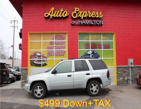 2007 Chevrolet TrailBlazer for sale at AUTO EXPRESS OF HAMILTON LLC in Hamilton OH