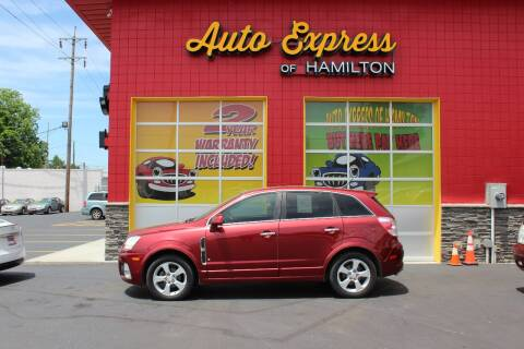 2008 Saturn Vue for sale at AUTO EXPRESS OF HAMILTON LLC in Hamilton OH